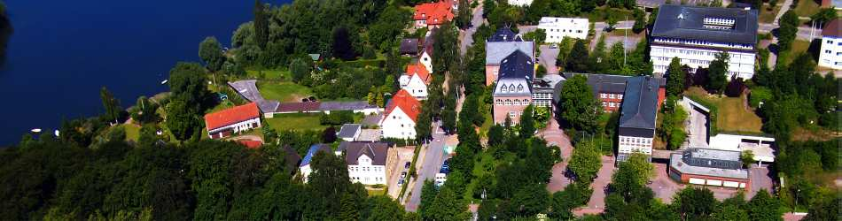 Luftbild Kreishaus Plön