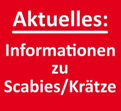 Informationen zu Scabies /